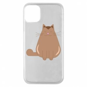 Etui na iPhone 11 Pro Relaxing cat