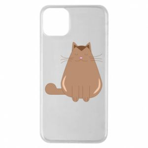Etui na iPhone 11 Pro Max Relaxing cat