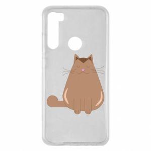 Etui na Xiaomi Redmi Note 8 Relaxing cat