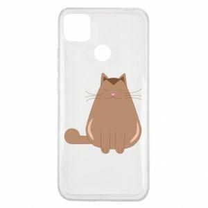 Etui na Xiaomi Redmi 9c Relaxing cat