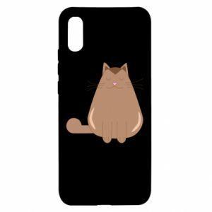 Etui na Xiaomi Redmi 9a Relaxing cat