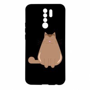 Etui na Xiaomi Redmi 9 Relaxing cat