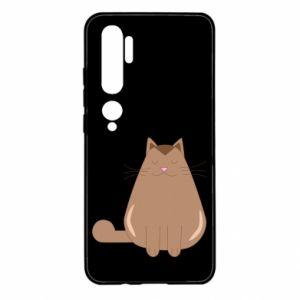 Etui na Xiaomi Mi Note 10 Relaxing cat