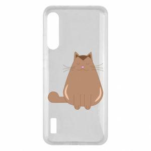 Etui na Xiaomi Mi A3 Relaxing cat