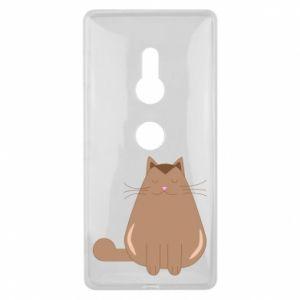 Etui na Sony Xperia XZ2 Relaxing cat