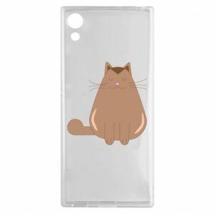 Etui na Sony Xperia XA1 Relaxing cat