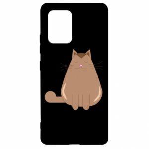 Etui na Samsung S10 Lite Relaxing cat