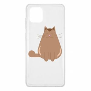 Etui na Samsung Note 10 Lite Relaxing cat