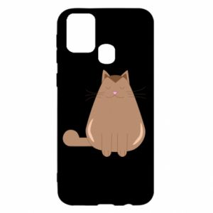 Etui na Samsung M31 Relaxing cat