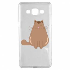 Etui na Samsung A5 2015 Relaxing cat