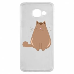 Etui na Samsung A3 2016 Relaxing cat