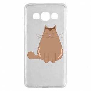 Etui na Samsung A3 2015 Relaxing cat