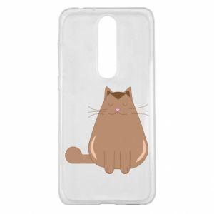 Etui na Nokia 5.1 Plus Relaxing cat