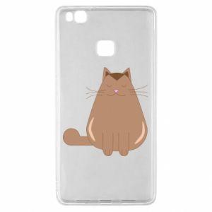 Etui na Huawei P9 Lite Relaxing cat
