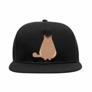 SnapBack Relaxing cat - PrintSalon