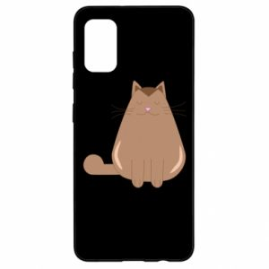 Etui na Samsung A41 Relaxing cat