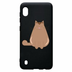 Etui na Samsung A10 Relaxing cat