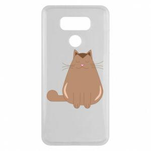 Etui na LG G6 Relaxing cat