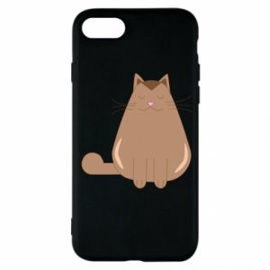 Etui na iPhone SE 2020 Relaxing cat