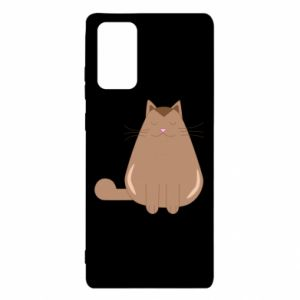 Etui na Samsung Note 20 Relaxing cat