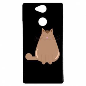 Etui na Sony Xperia XA2 Relaxing cat