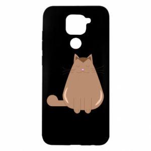 Etui na Xiaomi Redmi Note 9/Redmi 10X Relaxing cat