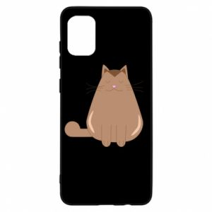 Etui na Samsung A31 Relaxing cat