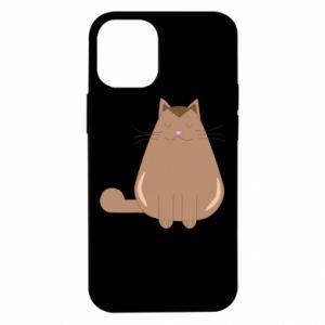 Etui na iPhone 12 Mini Relaxing cat