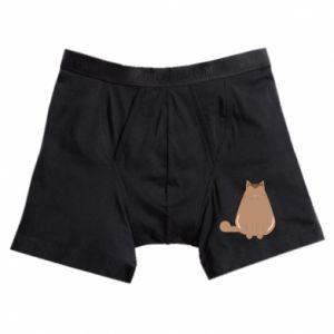 Boxer trunks Relaxing cat - PrintSalon