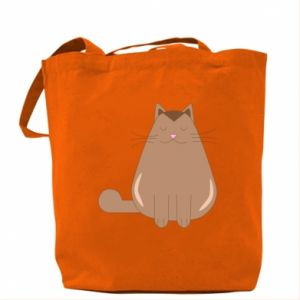 Bag Relaxing cat - PrintSalon