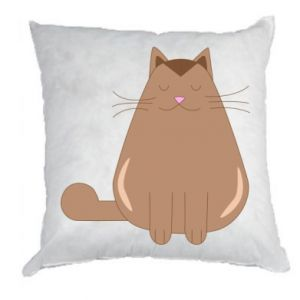 Pillow Relaxing cat - PrintSalon