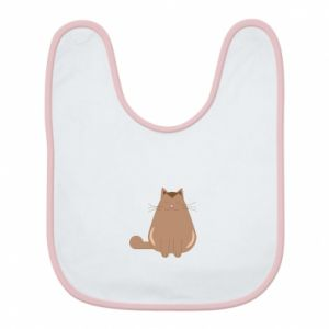 Bib Relaxing cat - PrintSalon