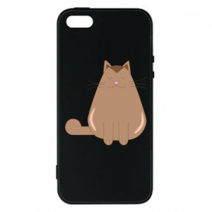 Etui na iPhone 5/5S/SE Relaxing cat