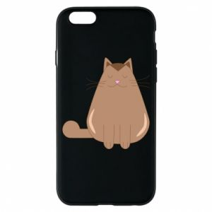 Etui na iPhone 6/6S Relaxing cat