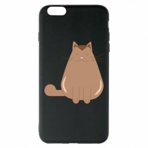 Etui na iPhone 6 Plus/6S Plus Relaxing cat