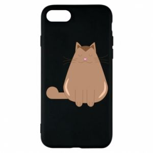 Etui na iPhone 8 Relaxing cat