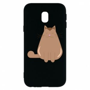Etui na Samsung J3 2017 Relaxing cat