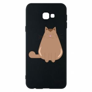Etui na Samsung J4 Plus 2018 Relaxing cat