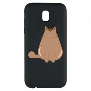 Etui na Samsung J5 2017 Relaxing cat