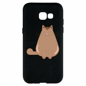 Etui na Samsung A5 2017 Relaxing cat