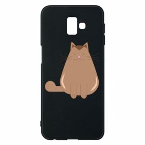 Etui na Samsung J6 Plus 2018 Relaxing cat