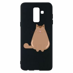 Etui na Samsung A6+ 2018 Relaxing cat