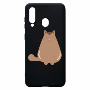 Etui na Samsung A60 Relaxing cat