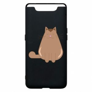 Etui na Samsung A80 Relaxing cat