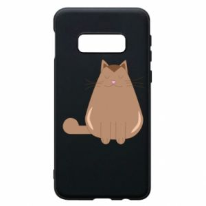 Etui na Samsung S10e Relaxing cat