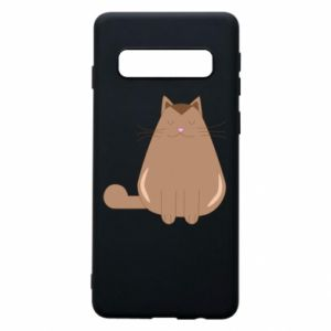 Etui na Samsung S10 Relaxing cat