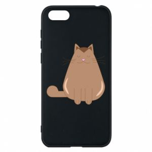 Etui na Huawei Y5 2018 Relaxing cat