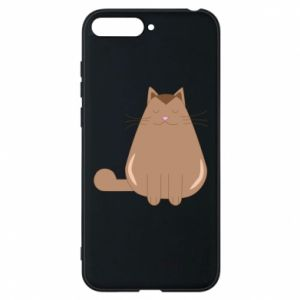 Etui na Huawei Y6 2018 Relaxing cat