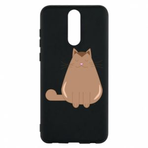 Etui na Huawei Mate 10 Lite Relaxing cat