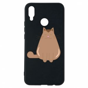 Etui na Huawei P Smart Plus Relaxing cat